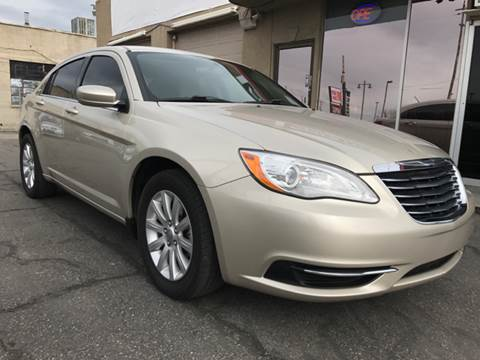 2013 Chrysler 200 for sale at Frontline Motors in Salt Lake City UT