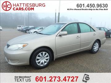 2005 Toyota Camry for sale in Hattiesburg, MS