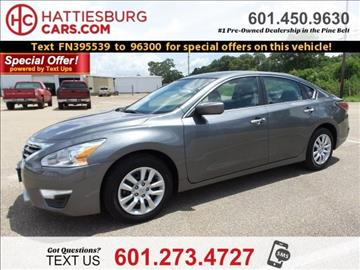 2015 Nissan Altima for sale in Hattiesburg, MS