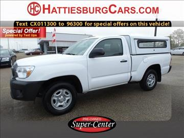 2012 Toyota Tacoma for sale in Hattiesburg, MS