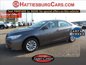 2015 Toyota Camry for sale in Hattiesburg, MS