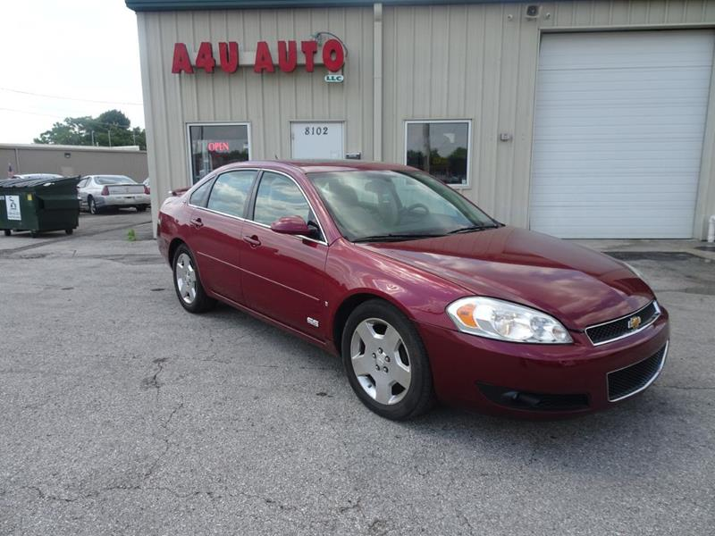 2006 Chevrolet Impala For Sale At A4U AUTO In Indianapolis IN