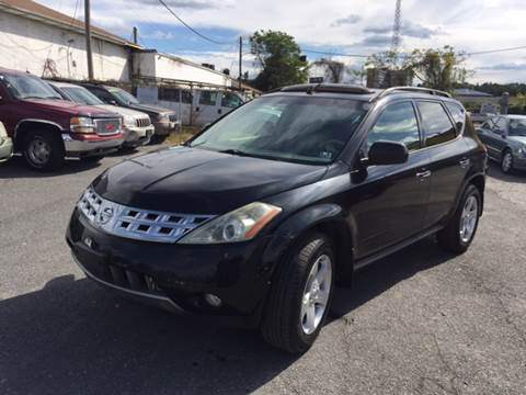 2003 Nissan Murano for sale in Baltimore, MD