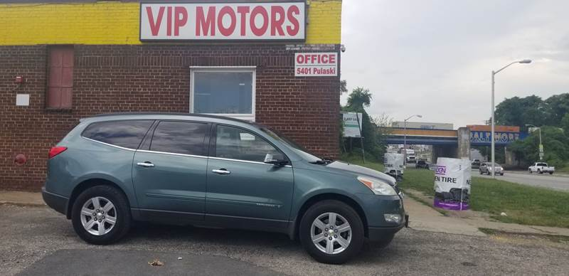 2009 Chevrolet Traverse Lt In Baltimore Md Vip Motors Inc