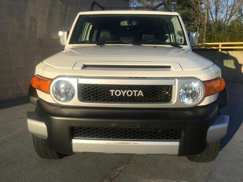 2014 Toyota FJ Cruiser for sale at Limitless Garage Inc. in Rockville MD