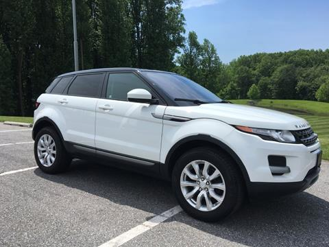 2015 Land Rover Range Rover Evoque for sale at Limitless Garage Inc. in Rockville MD