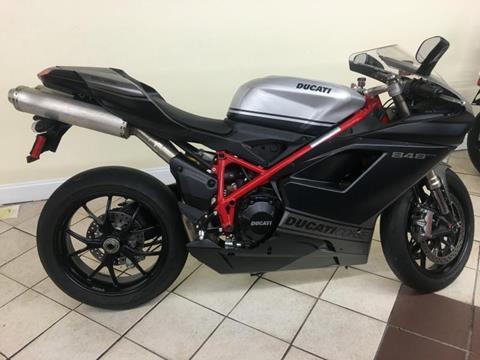 2013 Ducati 848 EVO COASE