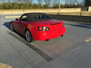 2006 Honda S2000 for sale at Limitless Garage Inc. in Rockville MD