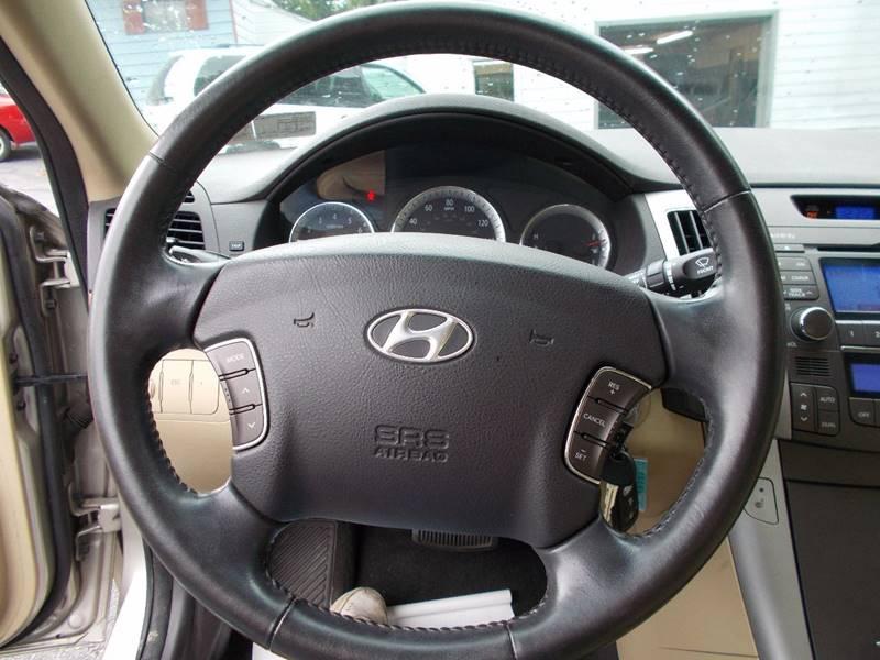 2009 Hyundai Sonata Limited 4dr Sedan - Connellsville PA