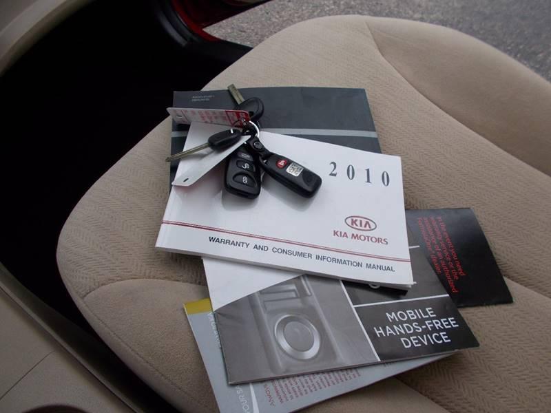 2010 Kia Optima LX 4dr Sedan (I4 5A) - Connellsville PA