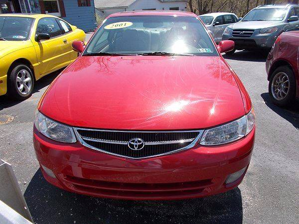 2001 Toyota Camry Solara SLE V6 2dr Coupe - Connellsville PA