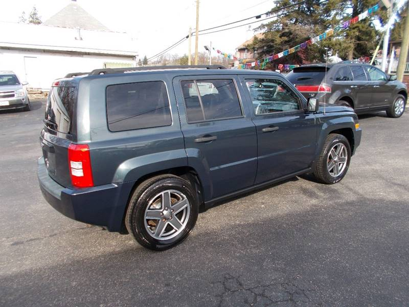 2008 Jeep Patriot 4x4 Sport 4dr SUV w/CJ1 Side Airbag Package - Connellsville PA