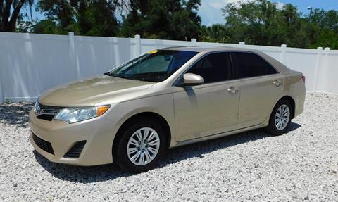 2012 Toyota Camry For Sale In Winter Haven, FL