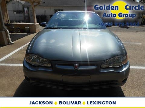 2004 Chevrolet Monte Carlo for sale at Golden Circle Auto Group in Memphis TN