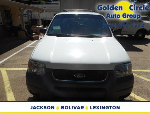 2004 Ford Escape for sale at Golden Circle Auto Group in Memphis TN