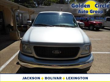 2002 Ford F-150 for sale at Golden Circle Auto Group in Memphis TN