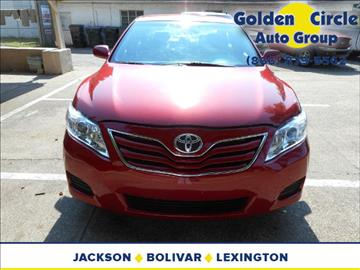 2011 Toyota Camry for sale at Golden Circle Auto Group in Memphis TN
