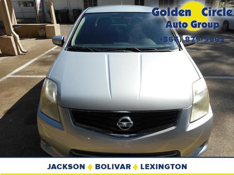 2010 Nissan Sentra for sale at Golden Circle Auto Group in Memphis TN