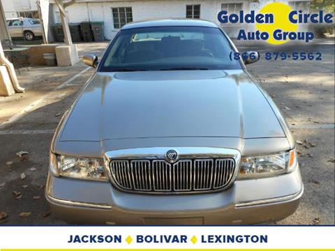 2002 Mercury Grand Marquis for sale at Golden Circle Auto Group in Memphis TN