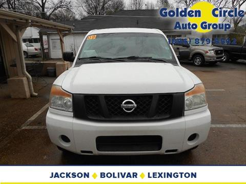 2009 Nissan Titan for sale at Golden Circle Auto Group in Memphis TN