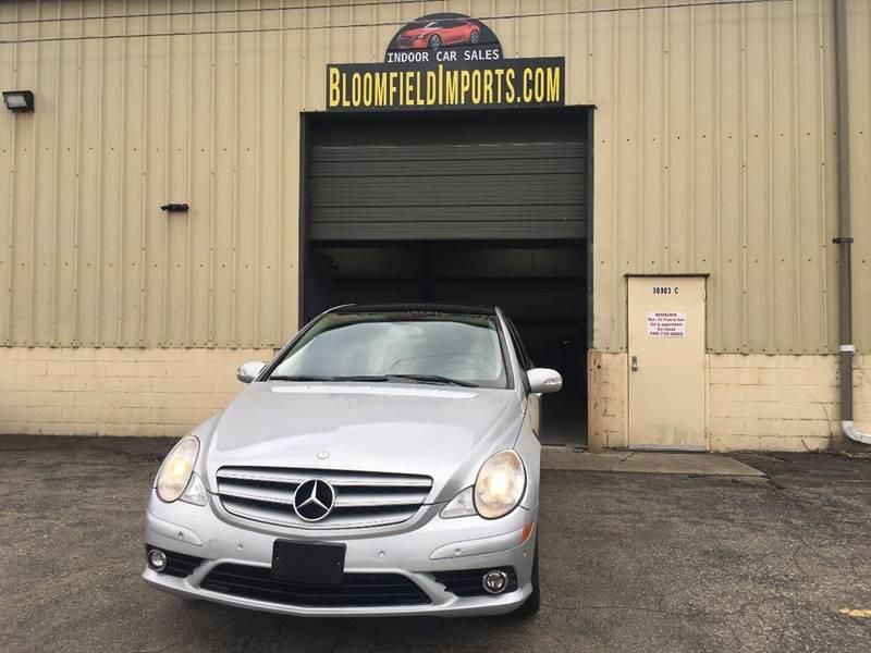 2008 mercedes benz r class awd r 350 4matic 4dr wagon in for Mercedes benz bloomfield mi