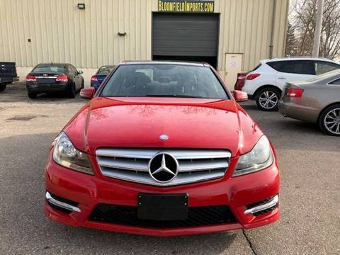 Used mercedes benz c class for sale in michigan for Mercedes benz bloomfield hills mi