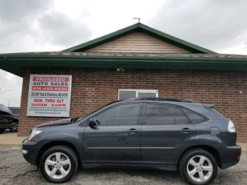 2004 Lexus RX 330 for sale at Privileged Auto Sales in Gladstone MO