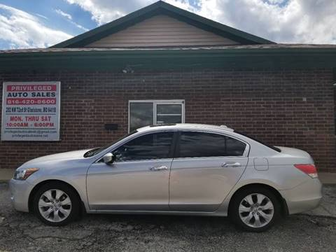 2008 Honda Accord for sale at Privileged Auto Sales in Gladstone MO