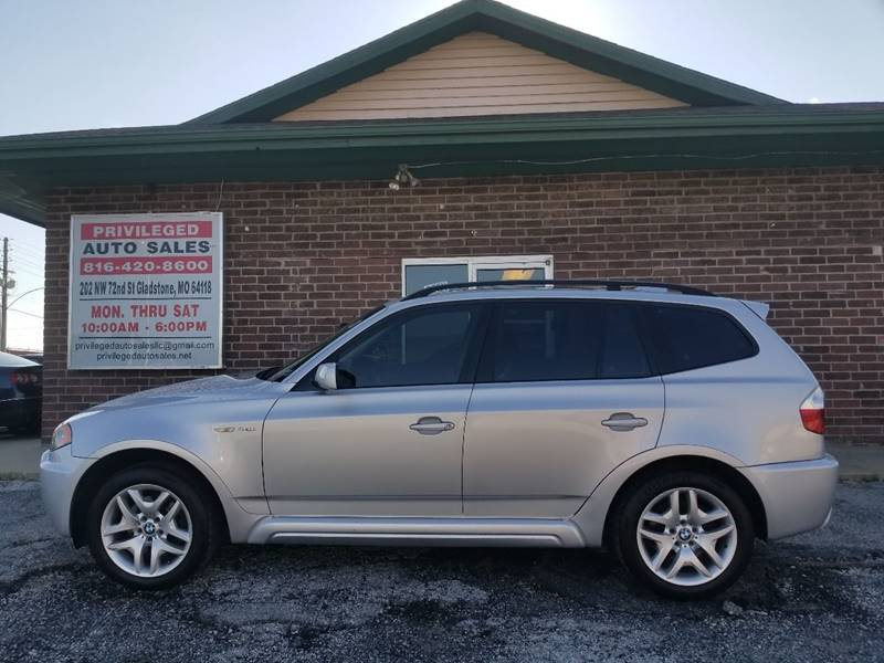 2006 BMW X3 for sale at Privileged Auto Sales in Gladstone MO
