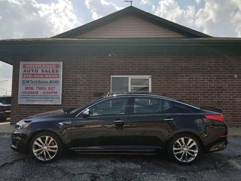 2014 Kia Optima for sale at Privileged Auto Sales in Gladstone MO