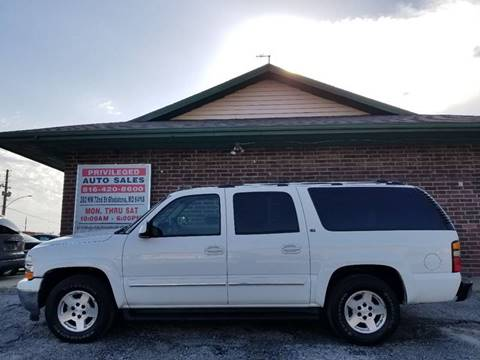2005 Chevrolet Suburban for sale at Privileged Auto Sales in Gladstone MO