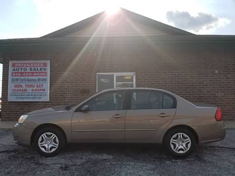 2008 Chevrolet Malibu Classic for sale at Privileged Auto Sales in Gladstone MO