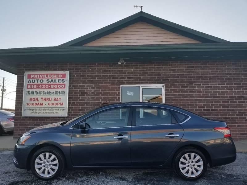 2014 Nissan Sentra for sale at Privileged Auto Sales in Gladstone MO