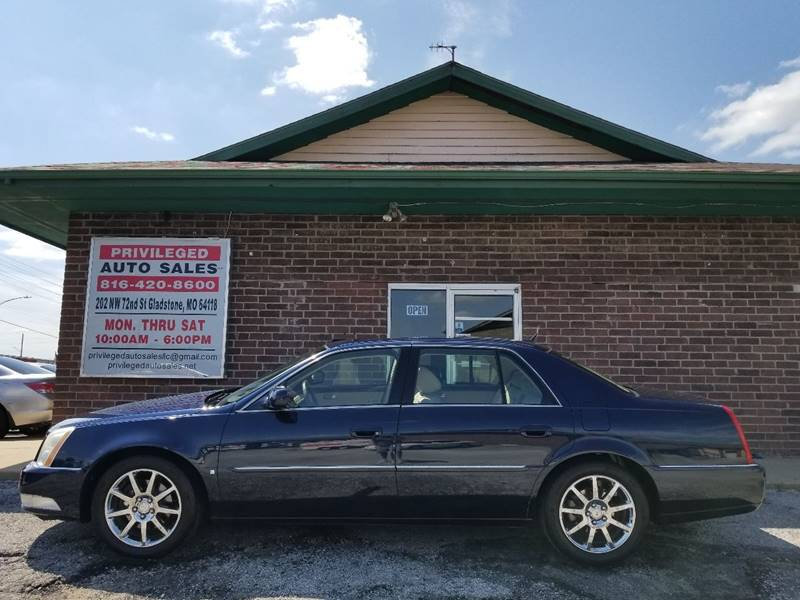 2007 Cadillac DTS for sale at Privileged Auto Sales in Gladstone MO