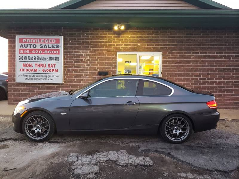 2007 Bmw 3 Series Awd 328xi 2dr Coupe In Gladstone Mo Privileged