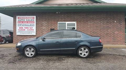 2008 Volkswagen Passat for sale at Privileged Auto Sales in Gladstone MO