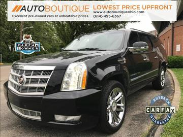2012 Cadillac Escalade ESV for sale in Columbus, OH