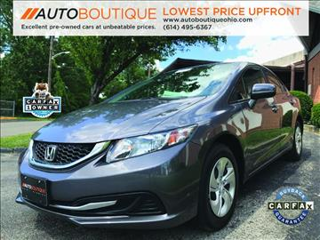 2014 Honda Civic for sale at Auto Boutique in Columbus OH