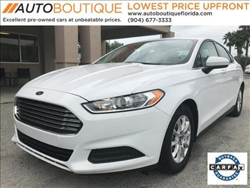 2016 Ford Fusion for sale at Auto Boutique Florida in Jacksonville FL