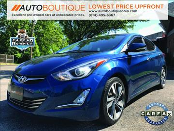 2014 Hyundai Elantra for sale at Auto Boutique in Columbus OH