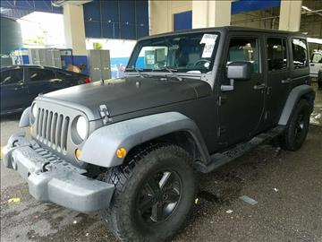 2007 Jeep Wrangler Unlimited for sale at Auto Boutique Florida in Jacksonville FL