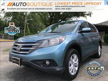 2014 Honda CR-V for sale at Auto Boutique in Columbus OH