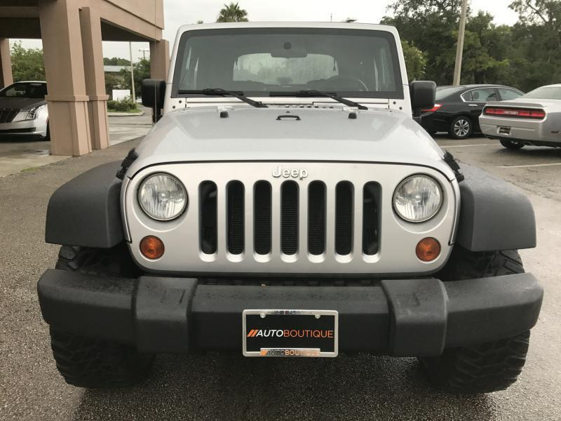 2007 Jeep Wrangler for sale at Auto Boutique Florida in Jacksonville FL