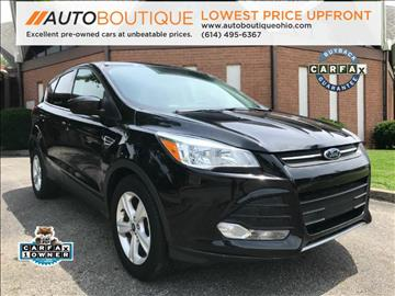 2015 Ford Escape for sale at Auto Boutique in Columbus OH