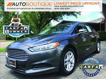 2015 Ford Fusion for sale in Columbus, OH