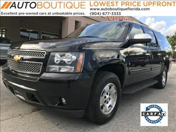 2008 Chevrolet Suburban for sale at Auto Boutique Florida in Jacksonville FL