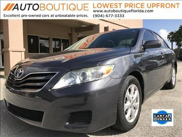 2011 Toyota Camry for sale at Auto Boutique Florida in Jacksonville FL