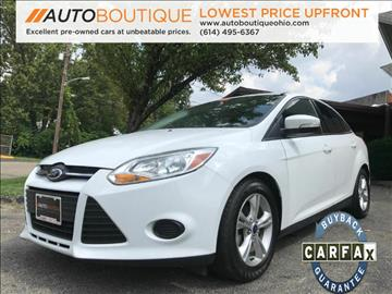 2014 Ford Focus for sale at Auto Boutique in Columbus OH