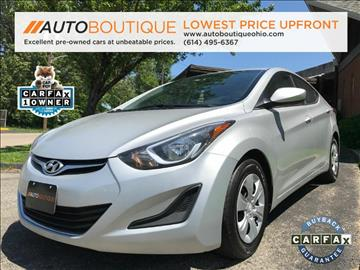 2016 Hyundai Elantra for sale at Auto Boutique in Columbus OH