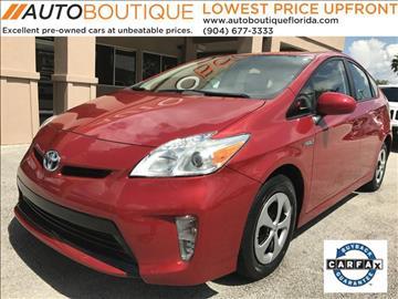 2014 Toyota Prius for sale at Auto Boutique Florida in Jacksonville FL